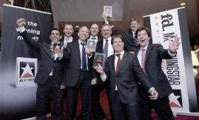Uitreiking Morningstart Award 2011